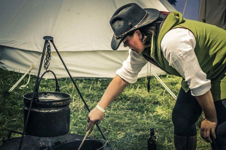 Kochen im Lager 2017