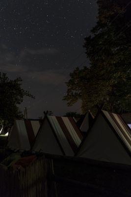 Lager bei Nacht 2017